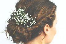 Le Wedding Hair / Wedding updos, long wedding hair, wedding hair ideas, bohemian hair, glamorous hair