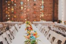 Le Gallery Wedding / A downtown art gallery is the most stylish modern wedding venue.