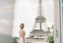 Le Chic French Wedding / How to channel your inner Parisian girl at your wedding.