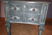 The Pickled Pair / Hand painted furniture by Lisa and Carrie