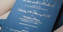 Blue Colors On Wedding Inspirations / Blue Colors On Wedding Inspirations