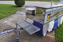 Hot Dog & Street Style Cart Accessories / Umbrellas, Skirts, Sneeze Guards, Chip Racks, Custom Signs, Menu Boards, Hot Dog Sleds, Umbrella Lights, Replacement Parts, Lighters, Char-Grills, Pans, Lids, Cooking Utensils, Marine-Grade Radios, Power Supplies, Cell Phone Chargers, etc.