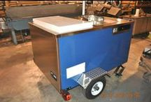 Sno-Cone & Italian Ice Cart / Packed with custom features and built to order! Ideal for: snow cones, italian ice, ice bars, drinks, etc.