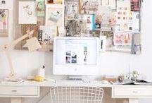 Studio + Office / Dream Studio, Dream Office, Studio Space, Creative Space, Office Decor, Studio Decor