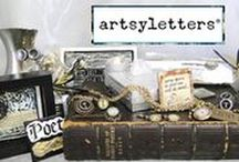 artsyletters on Etsy / Handcrafted, Upcycled Gifts for Readers, Writers, Poets & Dreamers!  etsy.com/shop/artsyletters