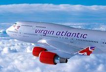 Virgin Planes / Virgin Atlantic and virgin airline planes.