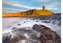 Dunstanburgh Castle / Dunstanburgh Castle was built on the most magnificent scale, and rivalled any castle of its day. The dramatic ruins of Dunstanburgh Castle stand on a remote headland, reached by a beautiful coastal walk from nearby Craster. http://www.visitnorthumberland.com/historic-sites/dunstanburgh-castle