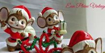 Vintage Christmas/Holidays 2016 / A wonderful selection of Holiday Decorating items and gifts!