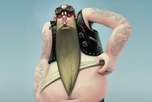 Barbudos / Personajes con barba
