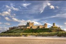 Northumberland Castles / Northumberland has more castles than any other county in England with over 70 castle sites, some which are romantic ruins. See others in their fully restored glory such as Bamburgh Castle, Alnwick Castle and spooky Chillingham Castle.  http://www.visitnorthumberland.com/history-heritage/castles