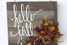 Awesome Fall!! / Lovely Vintage items that relate to Fall, Autumn and Thanksgiving!