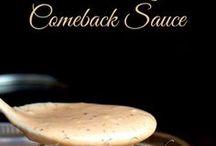 Recipes:  Sauces