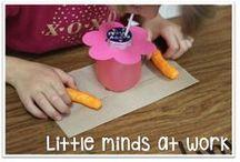 Kindergarten Spring Ideas / Ideas for spring in the kindergarten classroom!