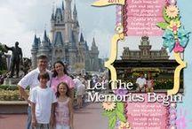 Layouts - Disney & Universal Studios