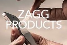 ZAGG Products / We really are Zealous About Great Gadgets over here at ZAGG. We're always developing innovative ways to spread the word about our invisibleSHIELD, tablet keyboards, cases, portable power, and mobile audio to help you protect, prolong, and accessorize your favorite gadgets.