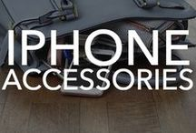iPhone Accessories / See the latest, greatest and the craziest iPhone accessories on the market. Everything from screen protectors and audio to door cameras and trackers.