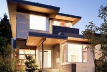 EXTERIOR + HOME / All kinds of homes: Urban, Rural, Modern, Classic.  Homes that make me go AAAHHHHH for one reason or another.