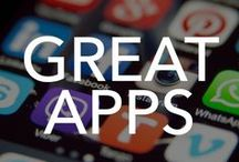 Great Apps / Here you will find all kinds of mobile apps for iPad, iPhone, Android and Windows that come in handy for music, fitness, kids, education, recipes and so much more. The app possibilities are endless!