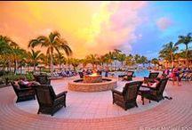 Sunset/Sunrise at the Cay