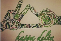 Sweet Home Kappa Delta  / by Molly Palmer