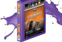 Heavy Duty Colors of the Week: Bright Purple / All the things that share the Bright Purple color of our Heavy Duty binder