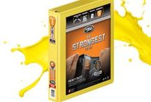 Heavy Duty Colors of the Week: Bright Yellow / All the things that share the Bright Yellow color of our Heavy Duty binder