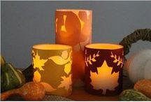 DIY Crafts Inspired by Fall / Great DIY crafts for you and your family during the Fall season.
