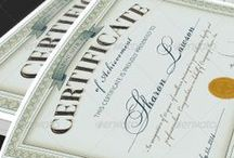 Certificate Templates / by Michael Taylor