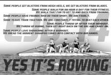 ... Rowing...