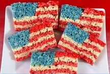 4th of July / We've put together a collection of some great DIY crafts, decorations and meals to make Independence Day more festive!