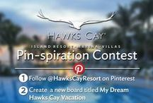 My Dream Hawks Cay Vacation Pinterest Contest / Need a little inspiration for your dream vacation? Here's a round-up of some our favorite things at Hawks Cay! #StayAtHawksCay