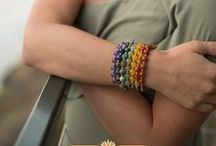 Chakra Jewelry / Check out our collection of chakra jewelry! Jewelry made with high quality genuine gemstones to help stimulate and balance your chakras!  https://www.loveprayjewelry.com/collections/chakra-jewelry