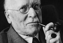 Carl Jung {Shared} / Welcome! Pins about Carl Jung. Please try to document the source if possible.  No Long Multi-pin pins. No advertising, no hashtags etc. *To Be ADDED* message me or comment on one of my recent pins.  As always, Please Pin Your Best Pins!  Thank you & Happy Pinning!