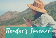 Reading Journal / Use a Reading Journal to get more from your reading and perfect your English.  vagabondenglish.com