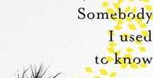 Somebody I Used to Know: Memory Board / To celebrate the publication of Somebody I Used to Know - the first memoir ever written by someone living with dementia - we're asking people to share the memory they'd least want to lose. Pin your memory to this board to help Wendy share her story with the world.