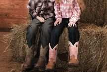 Cute Kids in Boots / Nothing Cuter than kids in boots and hanging around horses! / by Durango Boots