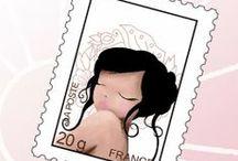 @teff : Créatéine / mettre en page vos émotions : illustrations, faire-part, mariage, naissance, personnalisé, invitations...