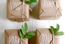 Wrap it up... / Add a little love to your giving of goodies...  / by Sherri Perez MacDonald