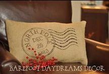 Burlap Creations / Creating beauty from burlap...awesome! / by Sherri Perez MacDonald
