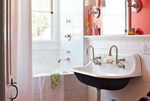 + bathroom + / by Jane Wunrow