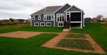 Home Exteriors / Belman Homes has over 50 designs to choose from! Ranch, 2-Story, First Floor Master, etc.