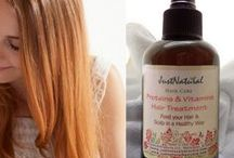 Thin Hair Solutions / Exceptional natural essences are used to nourish and thicken your hair.