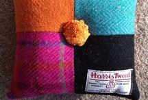 Harris Tweed / Everything that has a little bit of tweed in it, preferably of the Harris variety. / by Ingrid Duffy