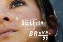 Divergent / Be Brave.