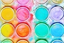 Colour Palette Inspiration / Art Inspiration!!  Lovely Colours to INSPIRE your Artwork!  Sometimes all you need to get your mojo back in gear are some GORGEOUS colour combinations! ;) / by Carrie Stephens - FishScraps