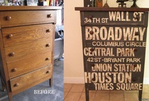 Home - Painted Furniture  / by Carrie Stephens - FishScraps