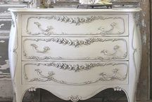 Painted, Upcycled and Restored Furniture / Upcycled furniture made beautiful using chalk paint, milk paint and  other types of finishes.