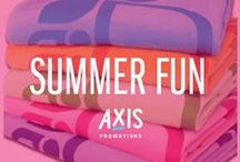 Summer Fun // Axis / Axis is an award winning promotional marketing agency, with a knack for branded merchandise.  Say hello: marketing@axispromo.com