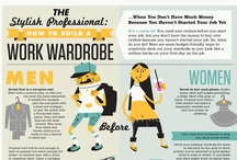 Dress to Impress - Women / Information about what women should (and should NOT) wear to work and tips for dressing for an interview.