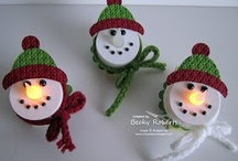 ~CHRISTMAS CHEER... / Christmas themed decor, crafts, editable items, etc... / by R.J. Miller